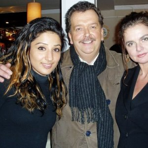 Circus Renz with Robert Ronday and my friend Donya - Netherlands